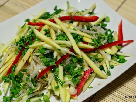 Raw Mango Thai Salad