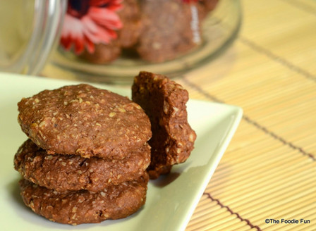 Wheat-Oats Cookies