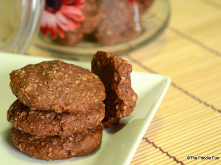 Wheat-Oats Cookies