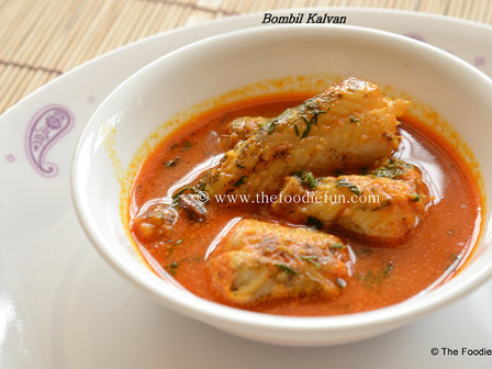 Bombil (Bombay Duck)Curry