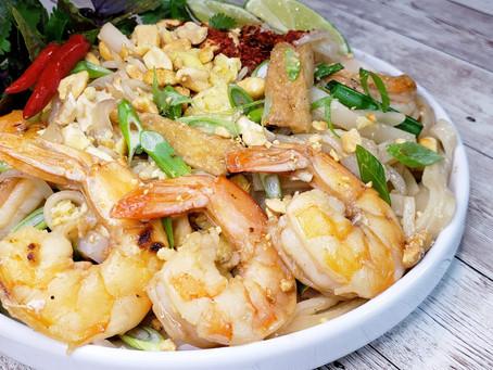 Shrimp Pad Thai Noodles