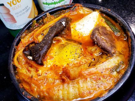 Quick & Easy Spicy Korean Tofu Soup