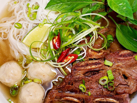 Phở Bò - Vietnamese Beef Noodle Soup - Beef Phở
