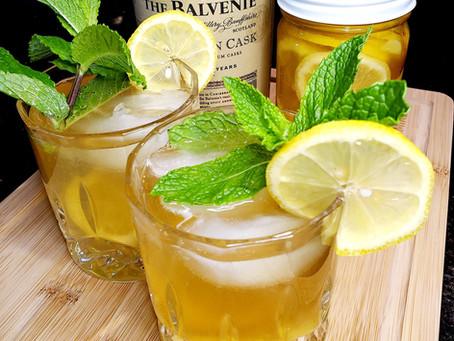 Deana's Lemon Ginger Honey Cocktail