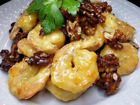 Airfryer Honey Walnut Shrimp