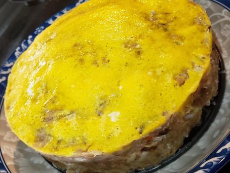 Vietnamese Egg Meatloaf