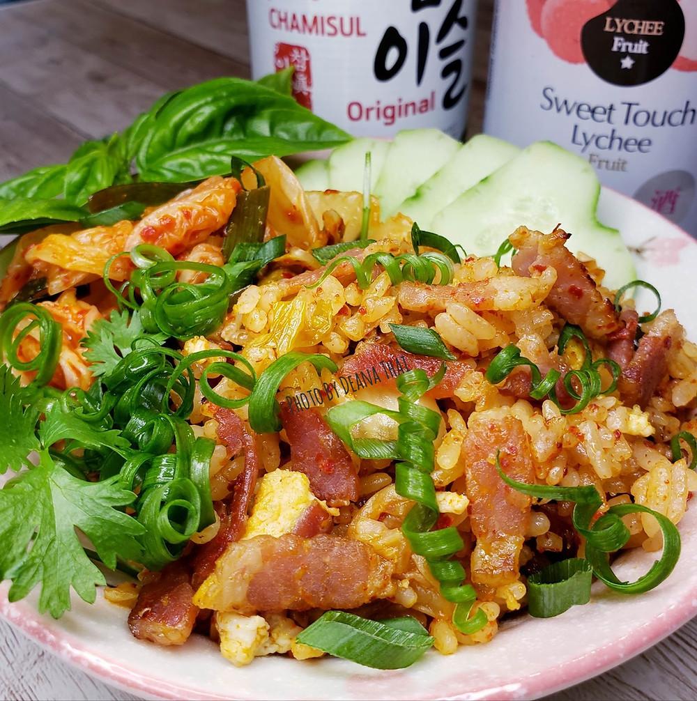Bacon Kimchee/Kimchi Fried Rice