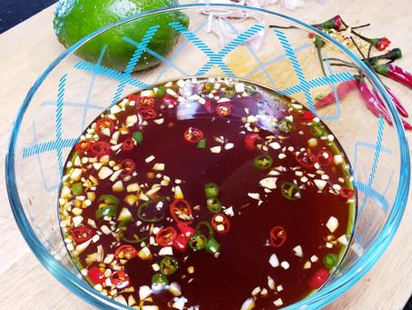 Nước Mắm Chấm - Sweet Chili Fish Sauce - Vietnamese Dipping Sauce