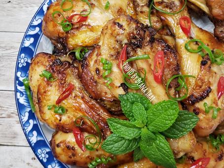 Airfry Lemongrass Chicken - Gà Xào Sả Ớt