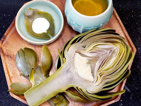 Artichoke Tea & Snack-Trà Cây Atisô