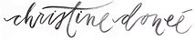 Christine Donee logo