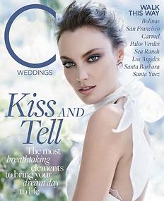 C Weddings Magazine cover
