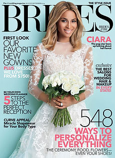 Brides cover with The Best Salons for Wedding Hair & Makeup, featuring PAGE Beauty in Los Angeles.