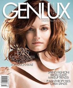 Genlux magazine cover 2014