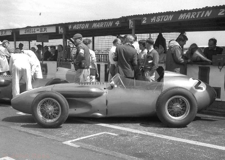 Aintree British Grand Prix | Roy Salvadori (Aston Martin DBR4) - 1959