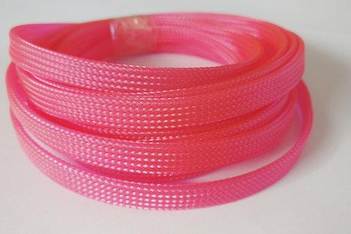 8mm wire braid/mesh - Pink