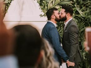 Gay Elope wedding in Guanacaste Costa Rica