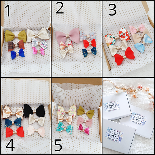 Pick your bow box - clips