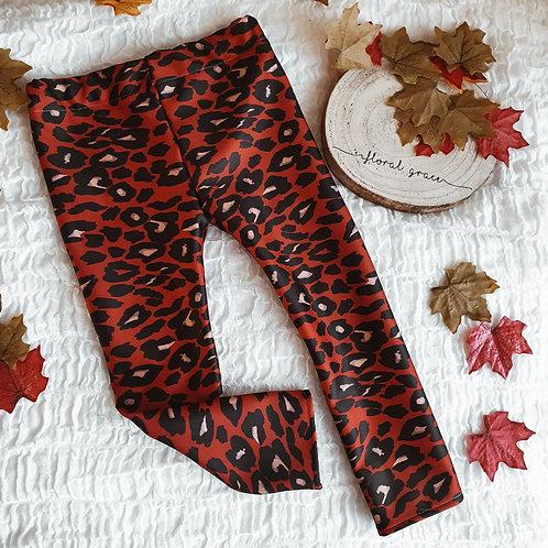 Leopard print leggings (various sizes)