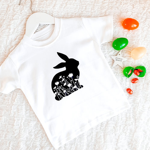 Easter bunny tee (various colours)