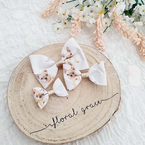 Frenchie bow