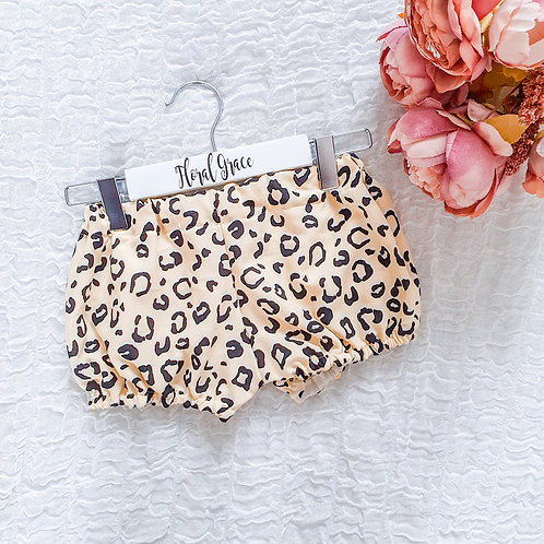 PREMADE: Yellow Leopard print bloomers