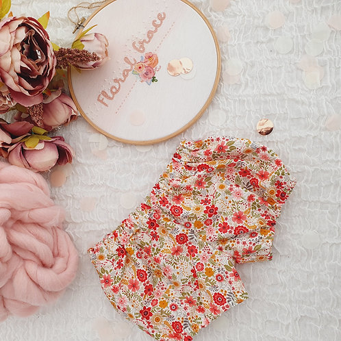 Bright Floral bloomers