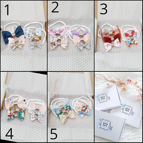 Pick your bow box - nylon headbands