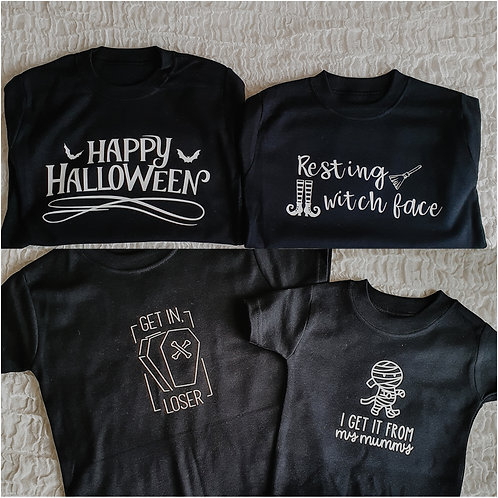 PREMADE: Halloween Tees