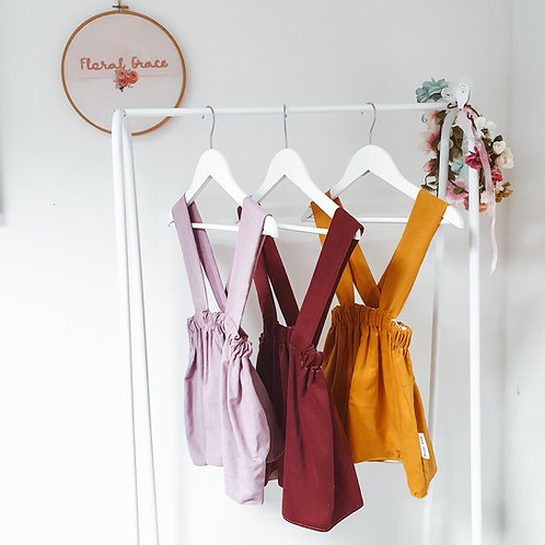 Corduroy skirt (3 colours)