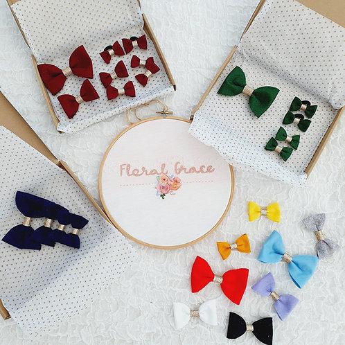 School bow sets (3 sizes)
