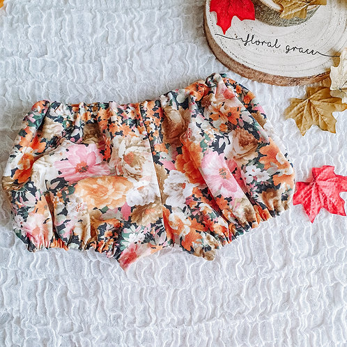 PREMADE: Autumn Floral Bloomers