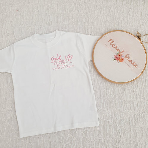 She is t-shirt
