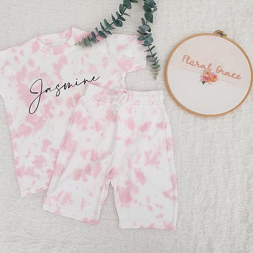 Pink tie dye (set or single)
