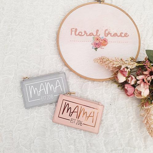 Mama card holder purse