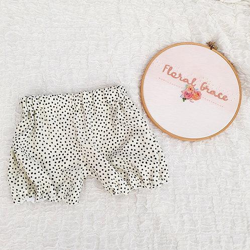Dalmatian print bloomers