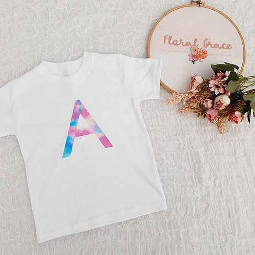 Space Initial T-shirt