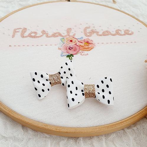 Dalmatian bow