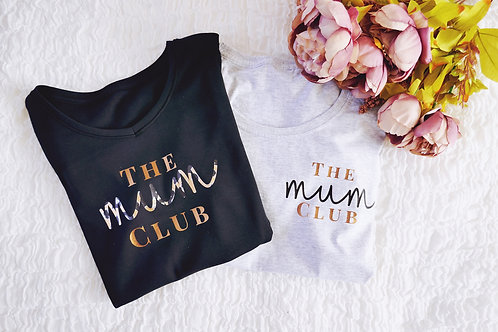 The mum club t-shirt