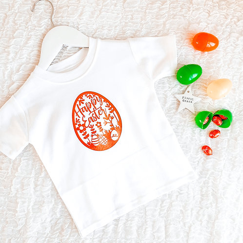 Premade: easter egg tee 1-2years