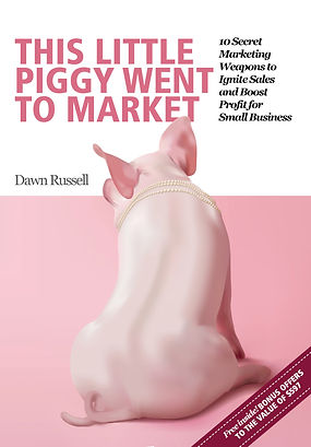 this little piggy - small business F cov