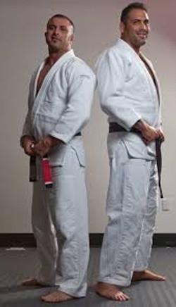 Vector Jiu jitsu