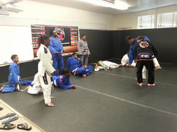 Practicing Takedowns