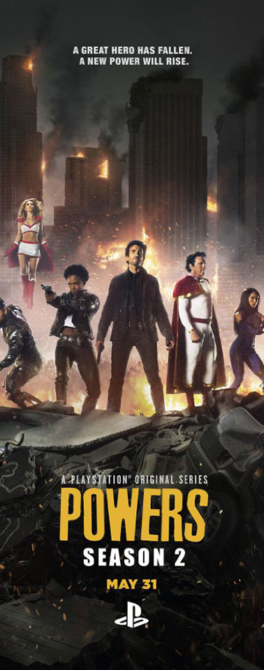 Powers Season 2 (TV Series)