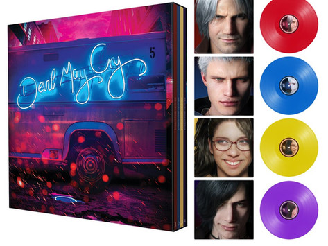 LACED RECORDS: Devil May Cry 5 (Original Soundtrack) coming to vinyl with SE X4 boxset