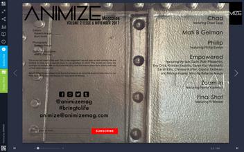 ANIMIZE Magazine Volume 2 Issue 6 - 'Empowered'