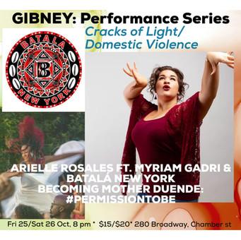 GIBNEY: Performance Series; Cracks of Light/Domestic Violence