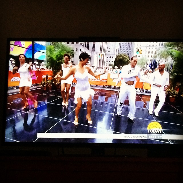 The Today Show- Salsa White Party