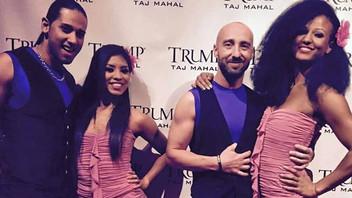 Red Hotts and the Latin Dancers at Taj Mahal Casino