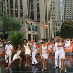 The Today Show - Salsa White Party